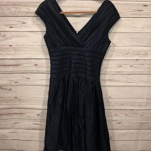 Adriana Papell formal dress navy blue size 6